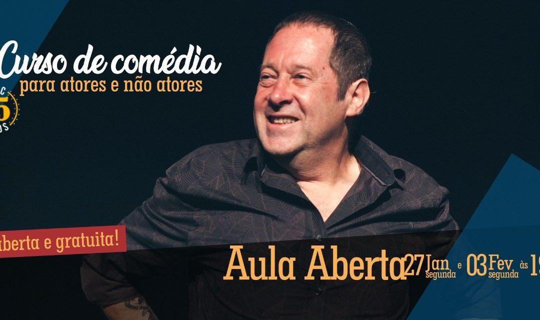 AULA ABERTA – Teatro para Atores e não atores da Escola do Ator Cômico