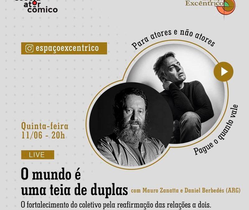 Live com Dany Berbedés (ARG) e Mauro Zanatta (BRA)